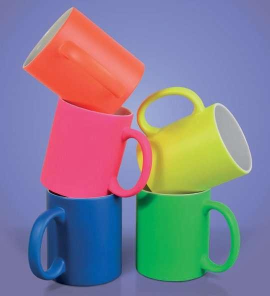 gadget personalizzabile tazze colorate