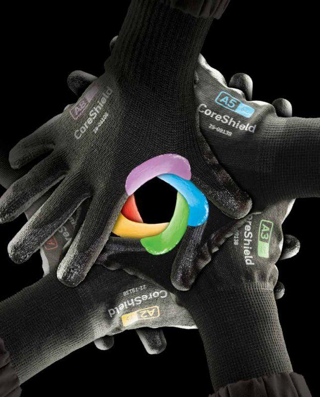 guanti coreshield centostrappi